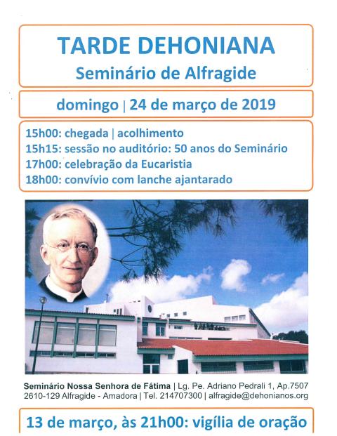 Tarde Dehoniana – Seminário de Alfragide