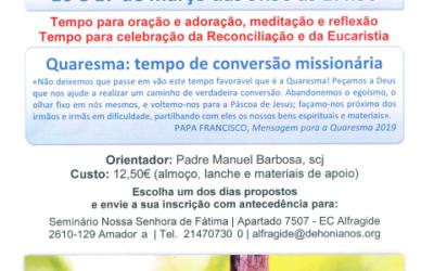 Retiro da Quaresma – Seminário de Alfragide