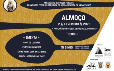 Almoço em Alvarinhos – Angariação de Fundos para os Grandiosos Festejos em Honra de Nossa Senhora da Nazaré 2020