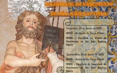 Solenidade do Nascimento de São João Baptista