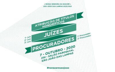 SESSÃO PARA ATRIBUIÇÃO DE TÍTULOS HONORÍFICOS