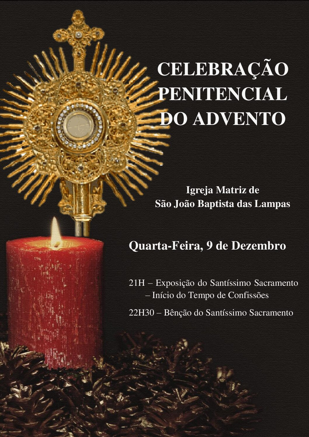Celebração Penitencial do Advento.