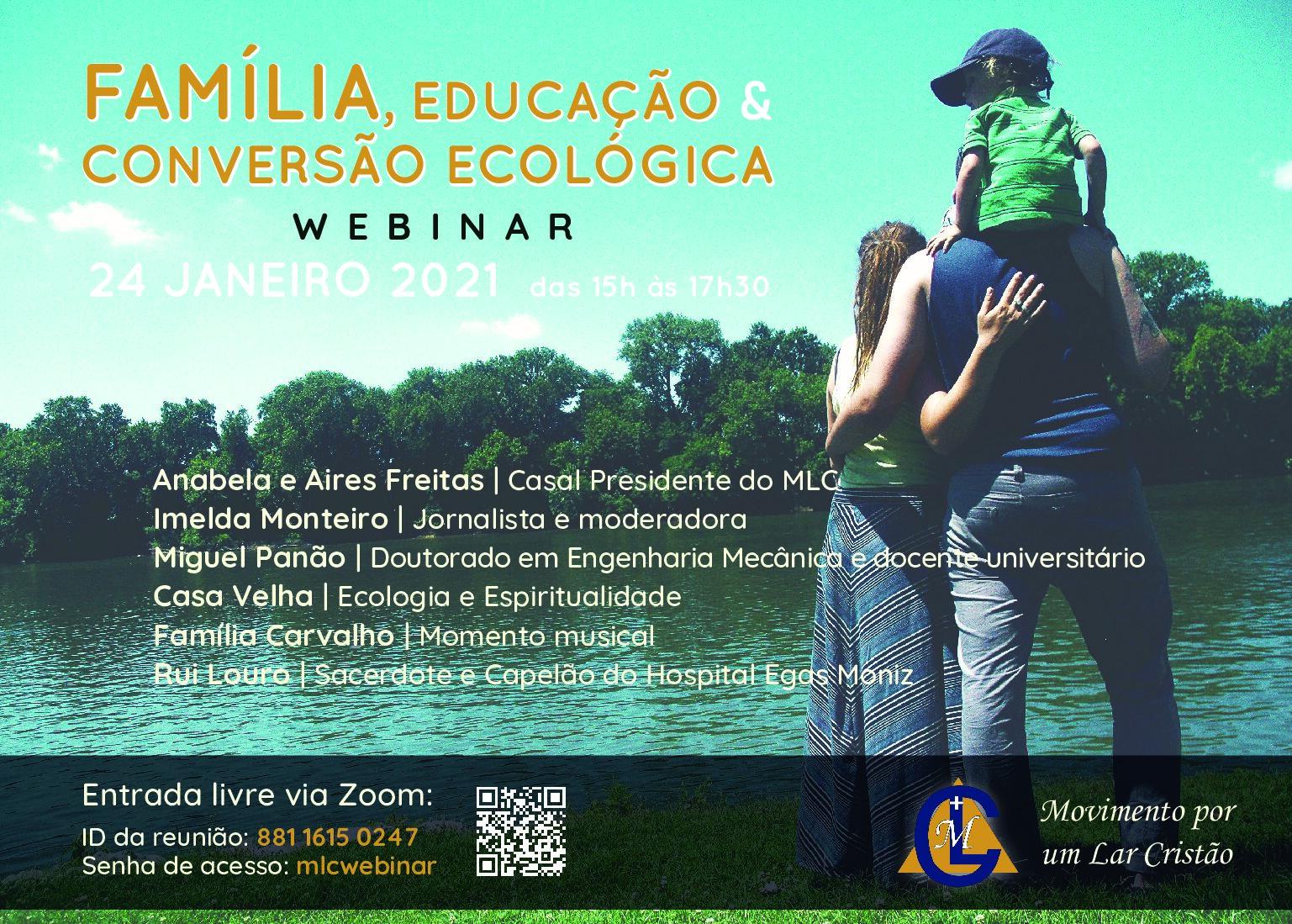 Família, Educação & Conversão Ecológica