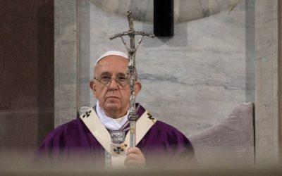 Mensagem para a Quaresma de 2021 – Papa Francisco