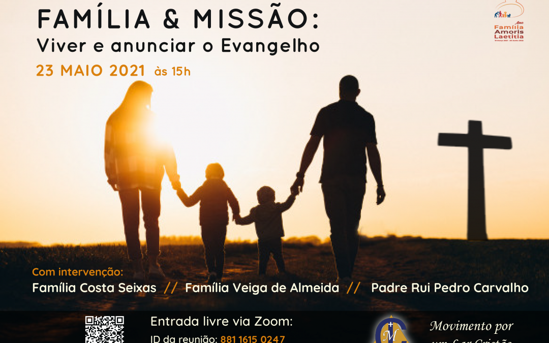 Família e Missão: Viver e anunciar o Evangelho