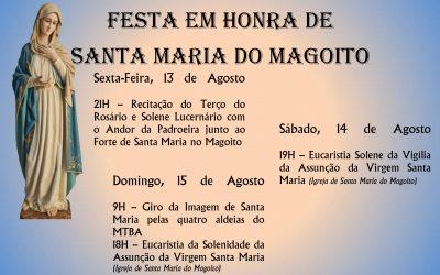 Festa em Honra de Santa Maria do Magoito