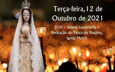 Solene Lucernário e Recitação do Terço